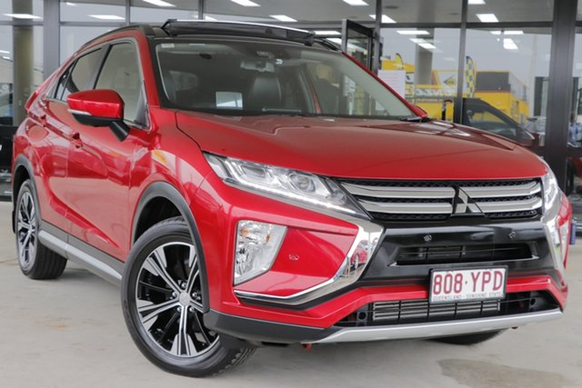 Used Mitsubishi Eclipse Cross YA MY18 Exceed AWD Rocklea, 2018 Mitsubishi Eclipse Cross YA MY18 Exceed AWD Red Diamond 8 Speed Constant Variable Wagon