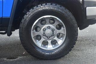 2012 Toyota FJ Cruiser GSJ15R Blue 5 Speed Automatic Wagon