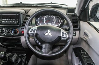 2015 Mitsubishi Triton MN MY15 GLX (4x4) 5 Speed Manual 4x4 Double Cab Utility
