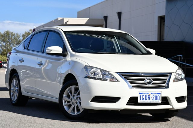 Used Nissan Pulsar B17 Series 2 ST Clarkson, 2015 Nissan Pulsar B17 Series 2 ST White 1 Speed Constant Variable Sedan