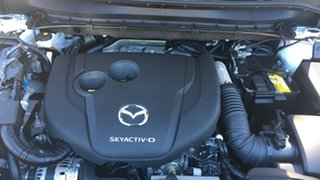 2021 Mazda CX-8 KG4W2A Touring SKYACTIV-Drive i-ACTIV AWD White Pearl 6 Speed Sports Automatic Wagon