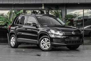 2014 Volkswagen Tiguan 5N MY14 118TSI DSG 2WD Black 6 Speed Sports Automatic Dual Clutch Wagon.