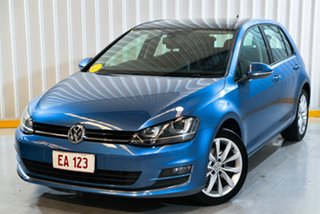 2015 Volkswagen Golf VII MY15 103TSI DSG Highline Blue 7 Speed Sports Automatic Dual Clutch.