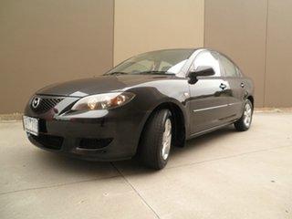2004 Mazda 3 BK10F1 Maxx Black Quartz 4 Speed Sports Automatic Sedan.
