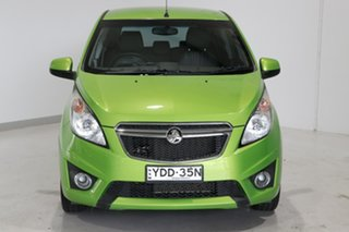 2015 Holden Barina Spark MJ MY15 CD Green 5 Speed Manual Hatchback