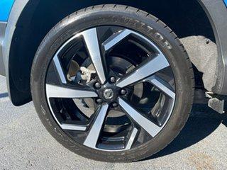2018 Nissan Qashqai J11 Series 2 Ti X-tronic Vivid Blue 1 Speed Constant Variable Wagon