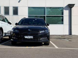 2021 Skoda Superb NP MY21 206TSI DSG SportLine Black 6 Speed Sports Automatic Dual Clutch Wagon.