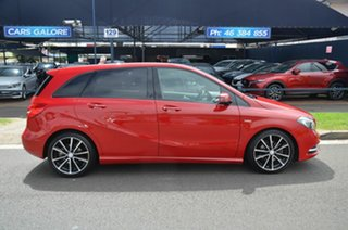 2012 Mercedes-Benz B200 246 BE Red 7 Speed Auto Direct Shift Hatchback.