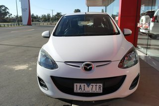 2010 Mazda 2 DE10Y1 MY10 Neo White 4 Speed Automatic Hatchback.