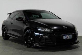 2012 Volkswagen Scirocco 1S MY13 R Coupe Black 6 Speed Manual Hatchback.