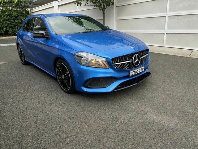 Used Mercedes-Benz A-Class W176 806MY A180 D-CT Zetland, 2016 Mercedes-Benz A-Class W176 806MY A180 D-CT Blue 7 Speed Sports Automatic Dual Clutch Hatchback