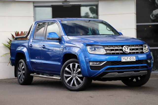 Used Volkswagen Amarok 2H MY18 TDI580 4MOTION Perm Ultimate Sutherland, 2018 Volkswagen Amarok 2H MY18 TDI580 4MOTION Perm Ultimate Blue 8 Speed Automatic Utility