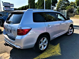 2008 Toyota Kluger GSU40R Grande 2WD Silver 5 Speed Sports Automatic Wagon.