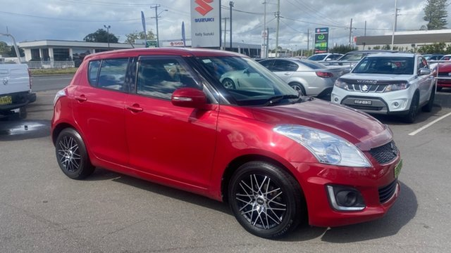 Used Suzuki Swift FZ MY14 GL Navigator Cardiff, 2014 Suzuki Swift FZ MY14 GL Navigator Red 4 Speed Automatic Hatchback