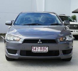 2010 Mitsubishi Lancer CJ MY10 Activ Grey 5 Speed Manual Sedan.