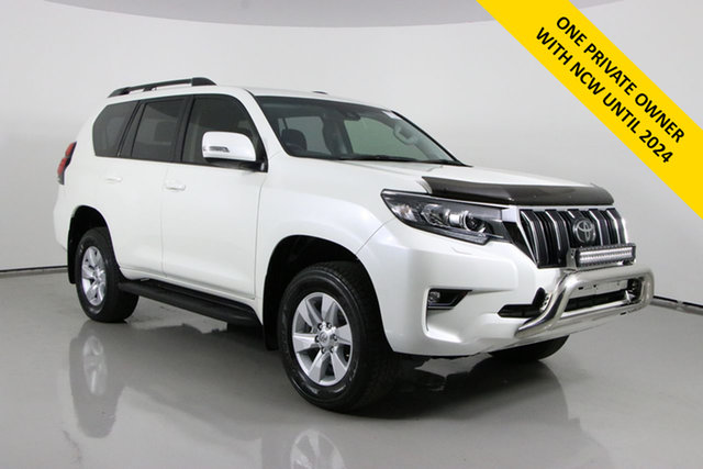 Used Toyota Landcruiser Prado GDJ150R MY18 GXL (4x4) Bentley, 2019 Toyota Landcruiser Prado GDJ150R MY18 GXL (4x4) White 6 Speed Automatic Wagon