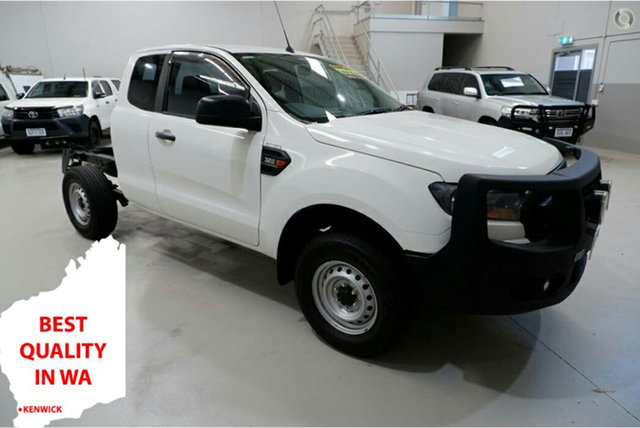 Used Ford Ranger PX MkII XL Kenwick, 2016 Ford Ranger PX MkII XL White 6 Speed Manual Cab Chassis