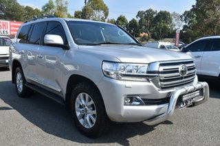 2017 Toyota Landcruiser VDJ200R Sahara Billet Silver 6 Speed Sports Automatic Wagon.