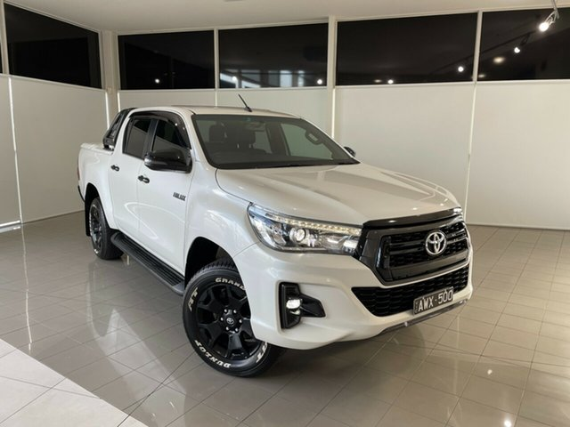 Used Toyota Hilux GUN126R Rogue Double Cab Deer Park, 2018 Toyota Hilux GUN126R Rogue Double Cab White 6 Speed Sports Automatic Utility