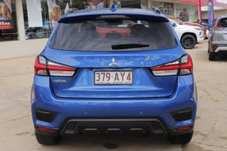 2020 Mitsubishi ASX XD MY21 Exceed 2WD Lightning Blue 1 Speed Constant Variable Wagon