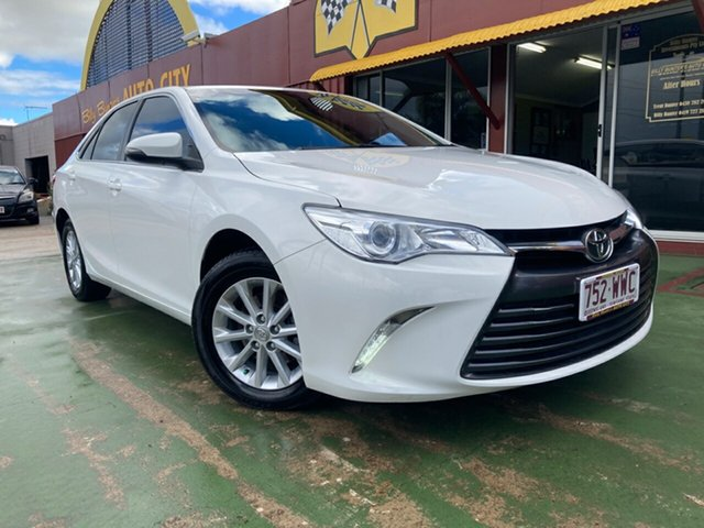 Used Toyota Camry ASV50R Altise Toowoomba, 2016 Toyota Camry ASV50R Altise White 6 Speed Sports Automatic Sedan