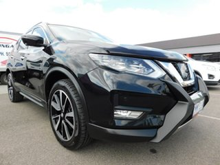 2018 Nissan X-Trail T32 Series II TL X-tronic 4WD Black 7 Speed Constant Variable Wagon.