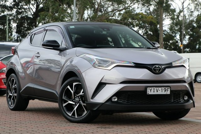 Pre-Owned Toyota C-HR NGX50R Koba S-CVT AWD Warwick Farm, 2018 Toyota C-HR NGX50R Koba S-CVT AWD Grey 7 Speed Constant Variable SUV