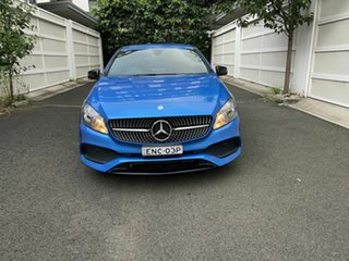 2016 Mercedes-Benz A-Class W176 806MY A180 D-CT Blue 7 Speed Sports Automatic Dual Clutch Hatchback.