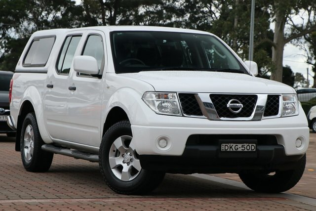 Pre-Owned Nissan Navara D40 S9 Silverline SE Warwick Farm, 2015 Nissan Navara D40 S9 Silverline SE White 5 Speed Automatic Utility