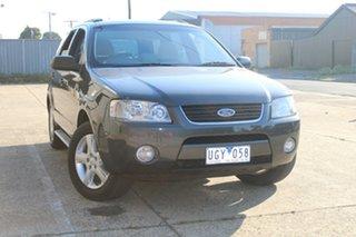2006 Ford Territory SY TS (RWD) Grey 4 Speed Auto Seq Sportshift Wagon.