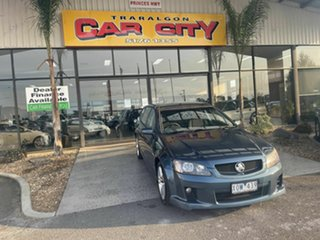 2010 Holden Commodore VE II SV6 Blue 6 Speed Automatic Sportswagon.