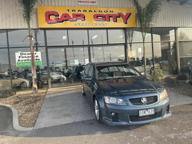 Used Holden Commodore VE II SV6 Traralgon, 2010 Holden Commodore VE II SV6 Blue 6 Speed Automatic Sportswagon