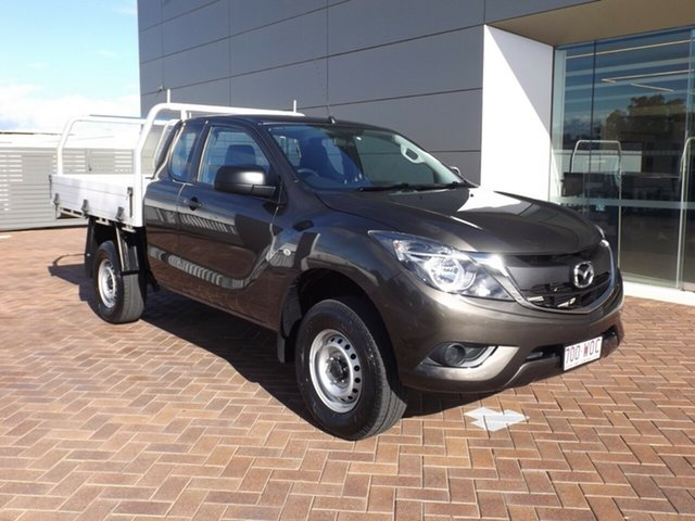 Used Mazda BT-50 UR0YF1 XT Freestyle Toowoomba, 2016 Mazda BT-50 UR0YF1 XT Freestyle Titanium Flash 6 Speed Manual Cab Chassis