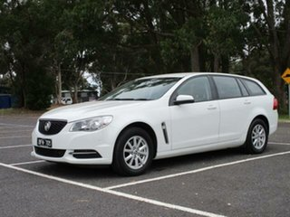 2016 Holden Commodore VF II Evoke White 6 Speed Automatic Wagon.