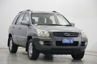 2007 Kia Sportage KM2 EX Grey 6 Speed Manual Wagon.