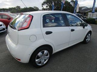 2013 Fiat Punto MY13 Pop Dualogic White 5 Speed Sports Automatic Single Clutch Hatchback