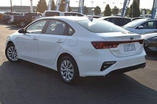 2019 Kia Cerato BD MY19 S White 6 Speed Manual Sedan.