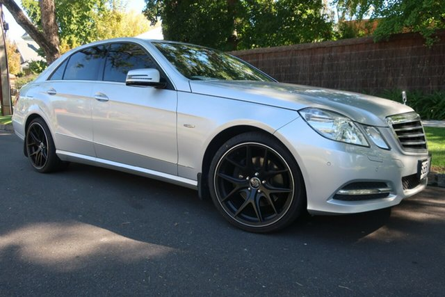 Used Mercedes-Benz E-Class W212 E250 CGI Avantgarde Prospect, 2010 Mercedes-Benz E-Class W212 E250 CGI Avantgarde Silver 5 Speed Sports Automatic Sedan