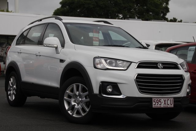 Used Holden Captiva CG MY16 Active 2WD Mount Gravatt, 2016 Holden Captiva CG MY16 Active 2WD White 6 Speed Sports Automatic Wagon