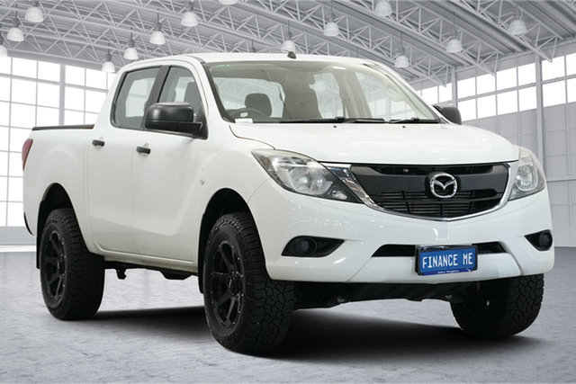 Used Mazda BT-50 UP0YF1 XT Victoria Park, 2015 Mazda BT-50 UP0YF1 XT White 6 Speed Sports Automatic Utility