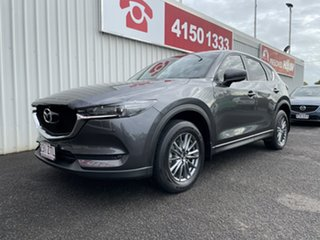 2018 Mazda CX-5 KF4W2A Touring SKYACTIV-Drive i-ACTIV AWD Grey 6 Speed Sports Automatic Wagon