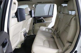 2018 Toyota Landcruiser VDJ200R MY16 Sahara (4x4) Pearl White 6 Speed Automatic Wagon