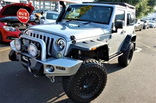 2013 Jeep Wrangler JK MY2013 Overland Silver 5 Speed Automatic Hardtop.