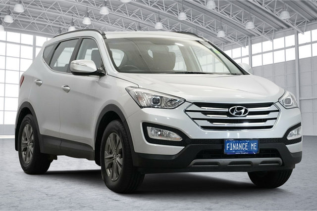 Used Hyundai Santa Fe DM MY14 Active Victoria Park, 2013 Hyundai Santa Fe DM MY14 Active Silver 6 Speed Manual Wagon