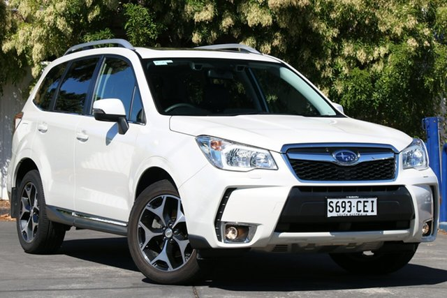 Used Subaru Forester S4 MY15 XT CVT AWD Premium Glenelg, 2015 Subaru Forester S4 MY15 XT CVT AWD Premium White 8 Speed Constant Variable Wagon