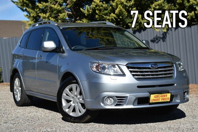 Used Subaru Tribeca B9 MY13 R AWD Premium Pack Enfield, 2013 Subaru Tribeca B9 MY13 R AWD Premium Pack Silver 5 Speed Sports Automatic Wagon