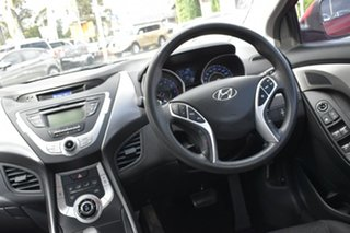 2011 Hyundai Elantra HD MY10 SX Red 4 Speed Automatic Sedan