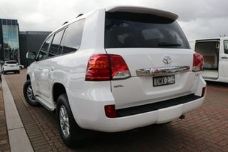 2014 Toyota Landcruiser VDJ200R MY13 GXL White 6 Speed Sports Automatic SUV.