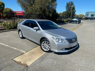 2013 Toyota Aurion GSV50R Prodigy Silver 6 Speed Sports Automatic Sedan.