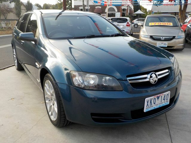 Used Holden Commodore VE MY09.5 International Newtown, 2009 Holden Commodore VE MY09.5 International Blue 4 Speed Automatic Sportswagon